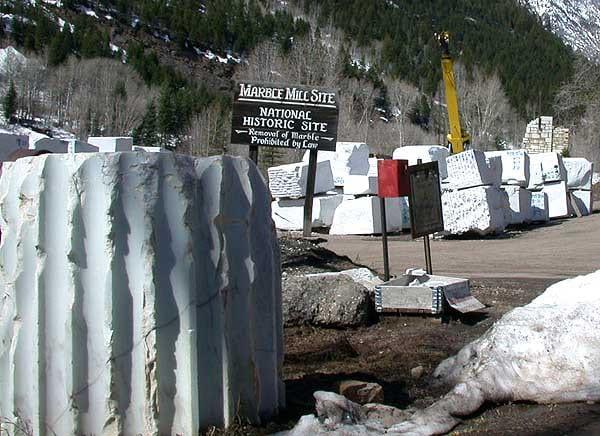 Marble Colorado Mill Site