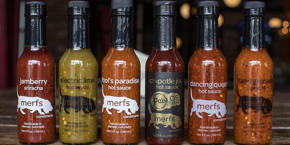 Merfs Condiments Hot Sauces Denver Colorado