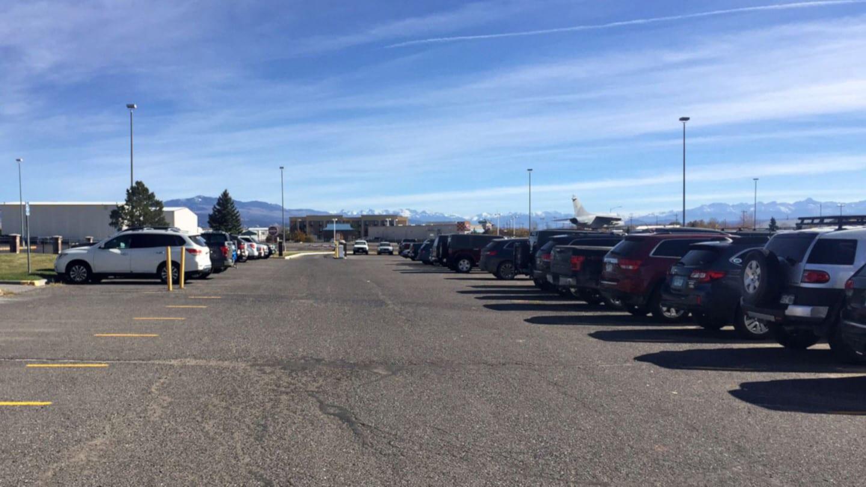 Montrose Regional Airport Parking Lot