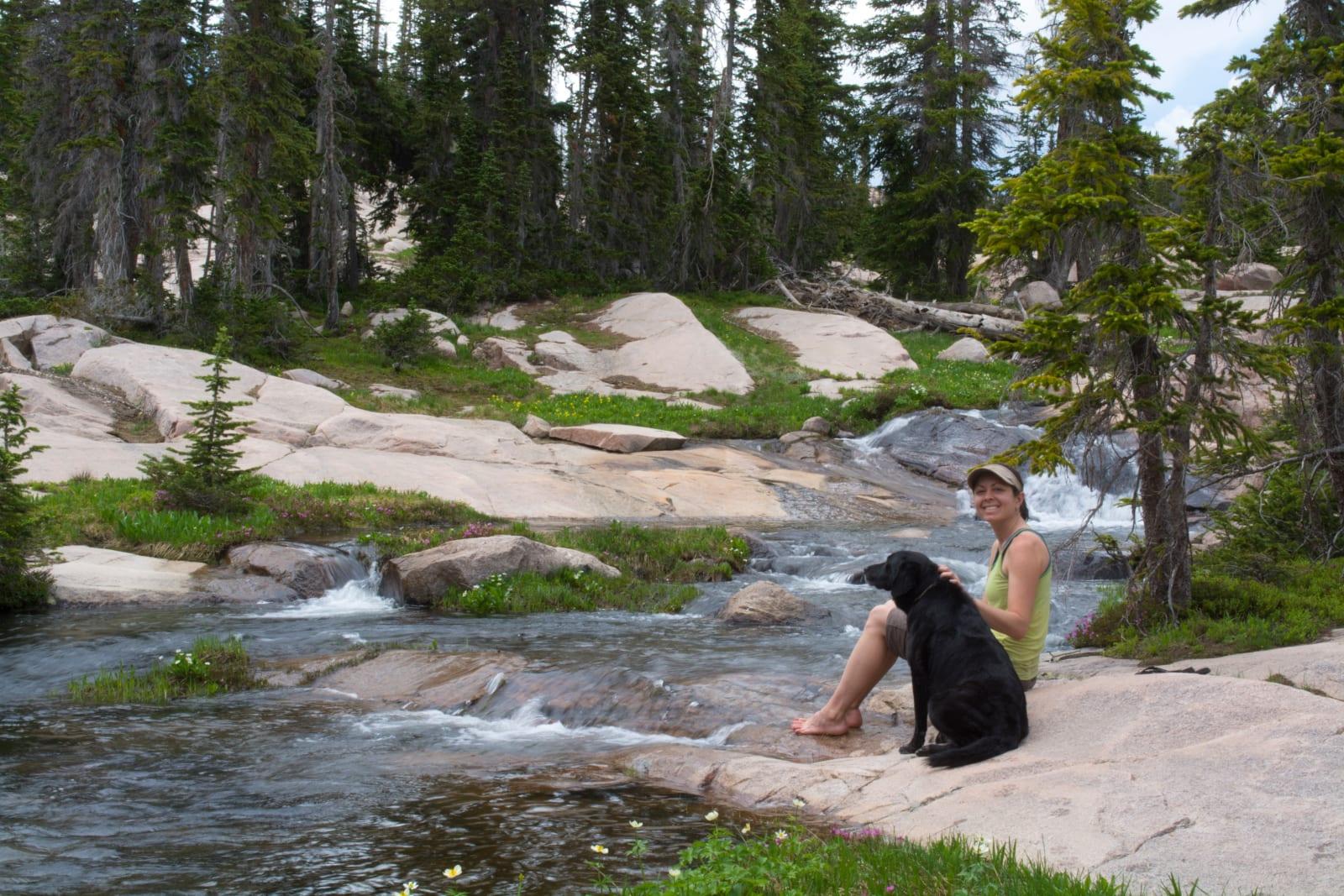 Mount Zirkel Wilderness Backpacking River