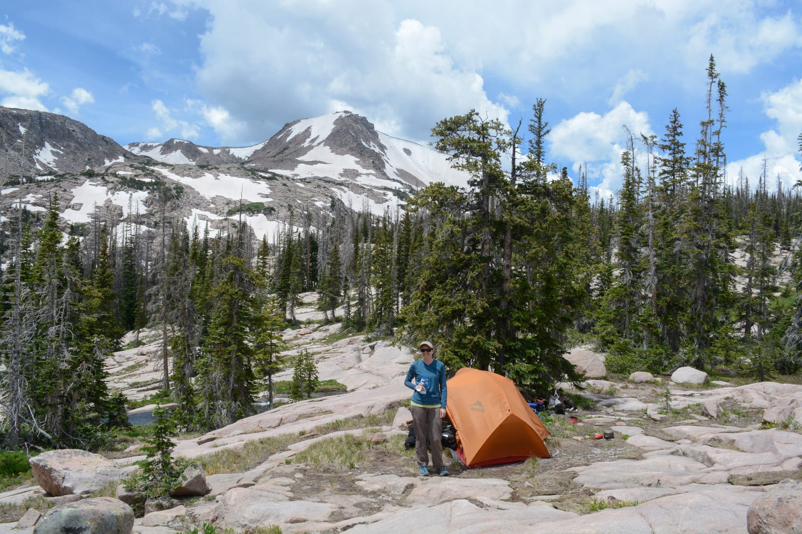 Mount Zirkel Wilderness Backpacking Tent Day