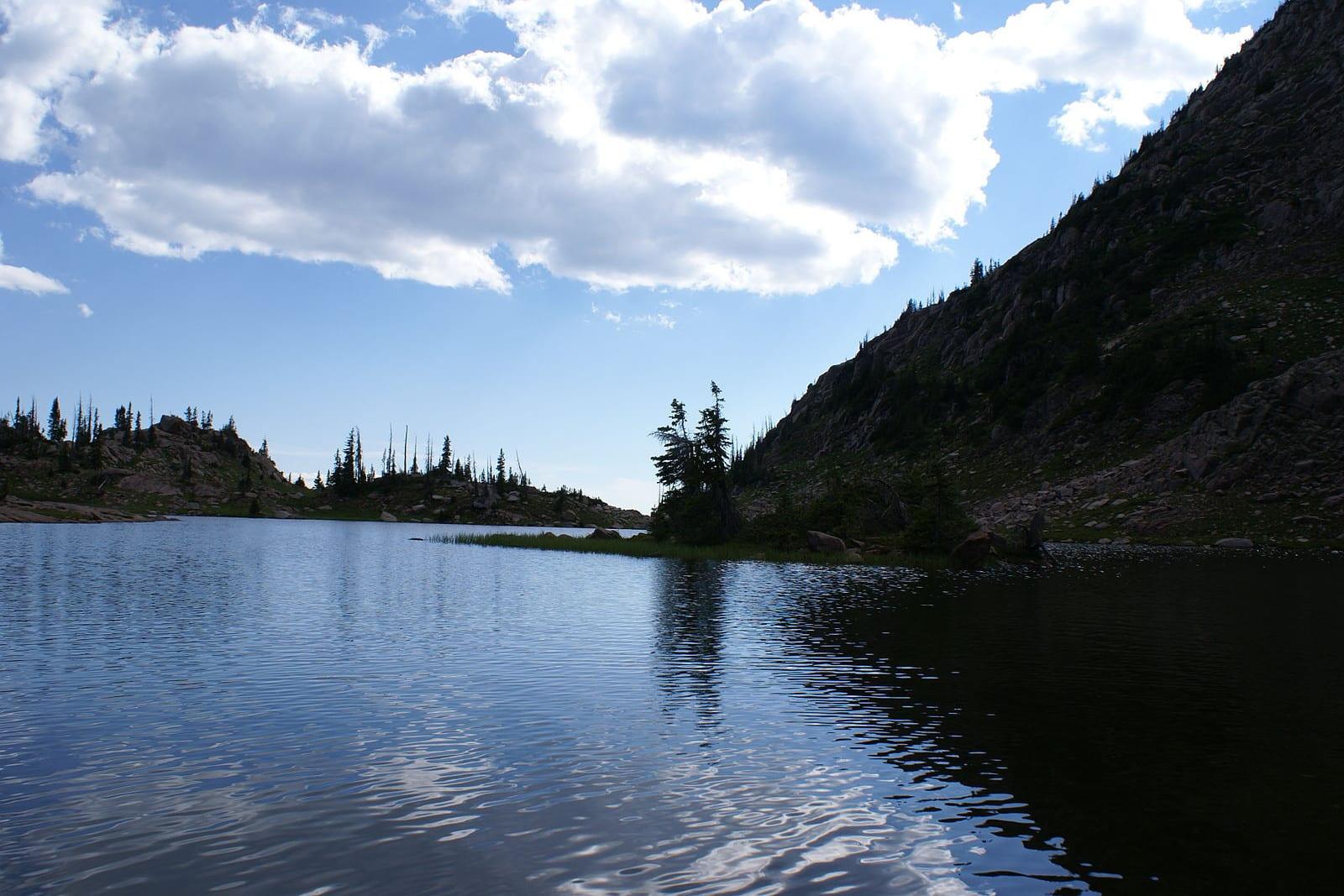 Mount Zirkel Wilderness Lake of the Crags
