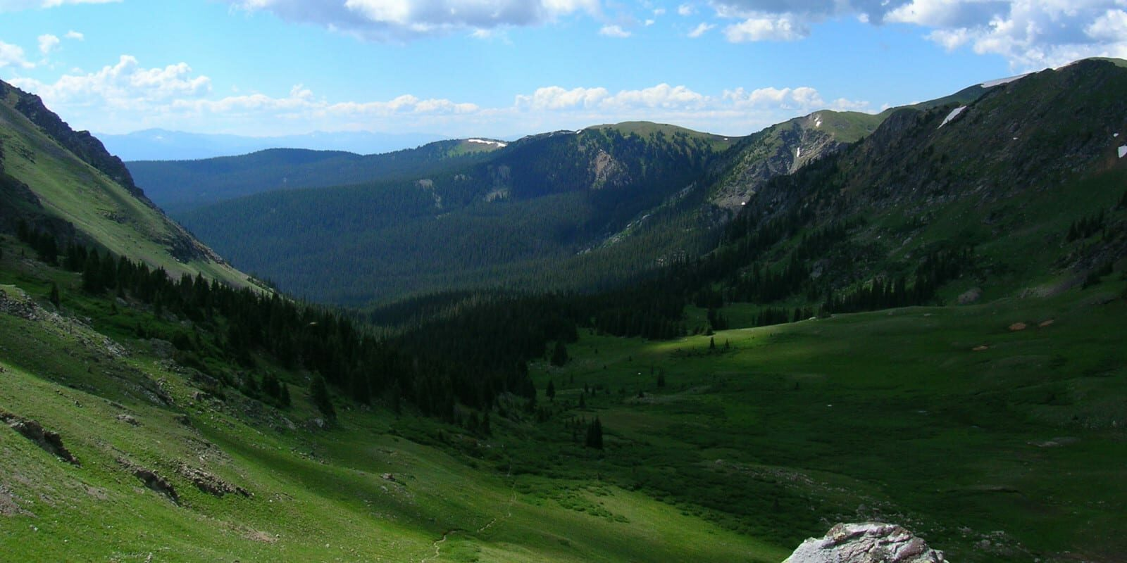 Never Summer Wilderness Baker's Pass View