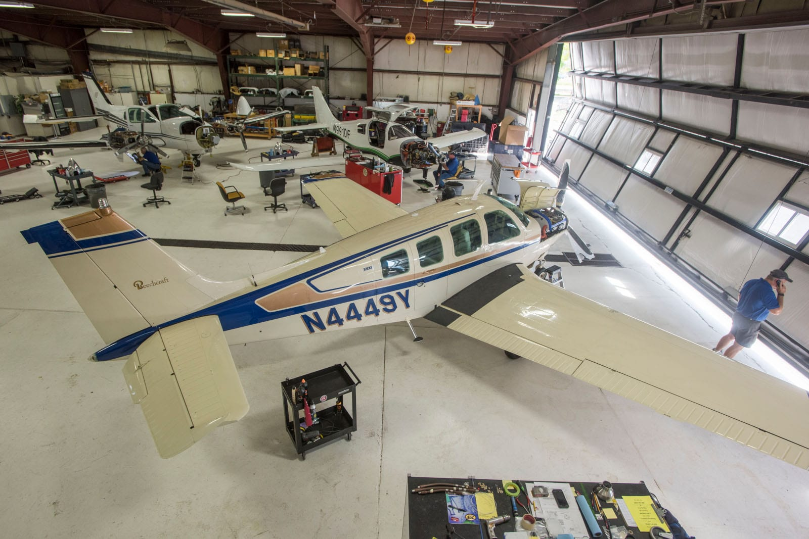 Northern Colorado Regional Airport Plane Hanger