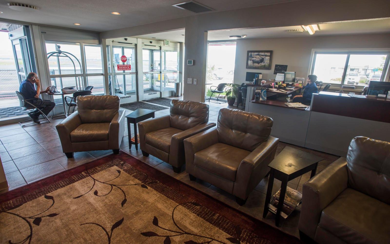 Northern Colorado Regional Airport Terminal Interior Lounge