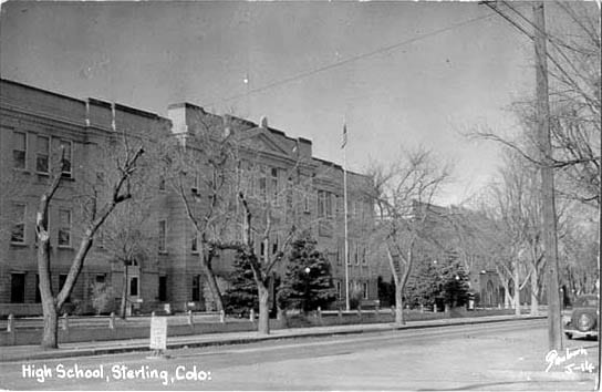 Old Sterling High School Colorado