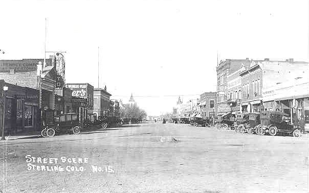 Old Sterling Main Street Colorado