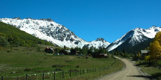 Ophir Colorado Ophir Pass