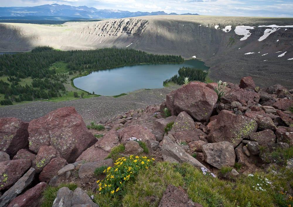 Powderhorn Wilderness Colorado Alpine Lake