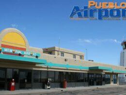 Pueblo Memorial Airport Terminal Control Tower Colorado