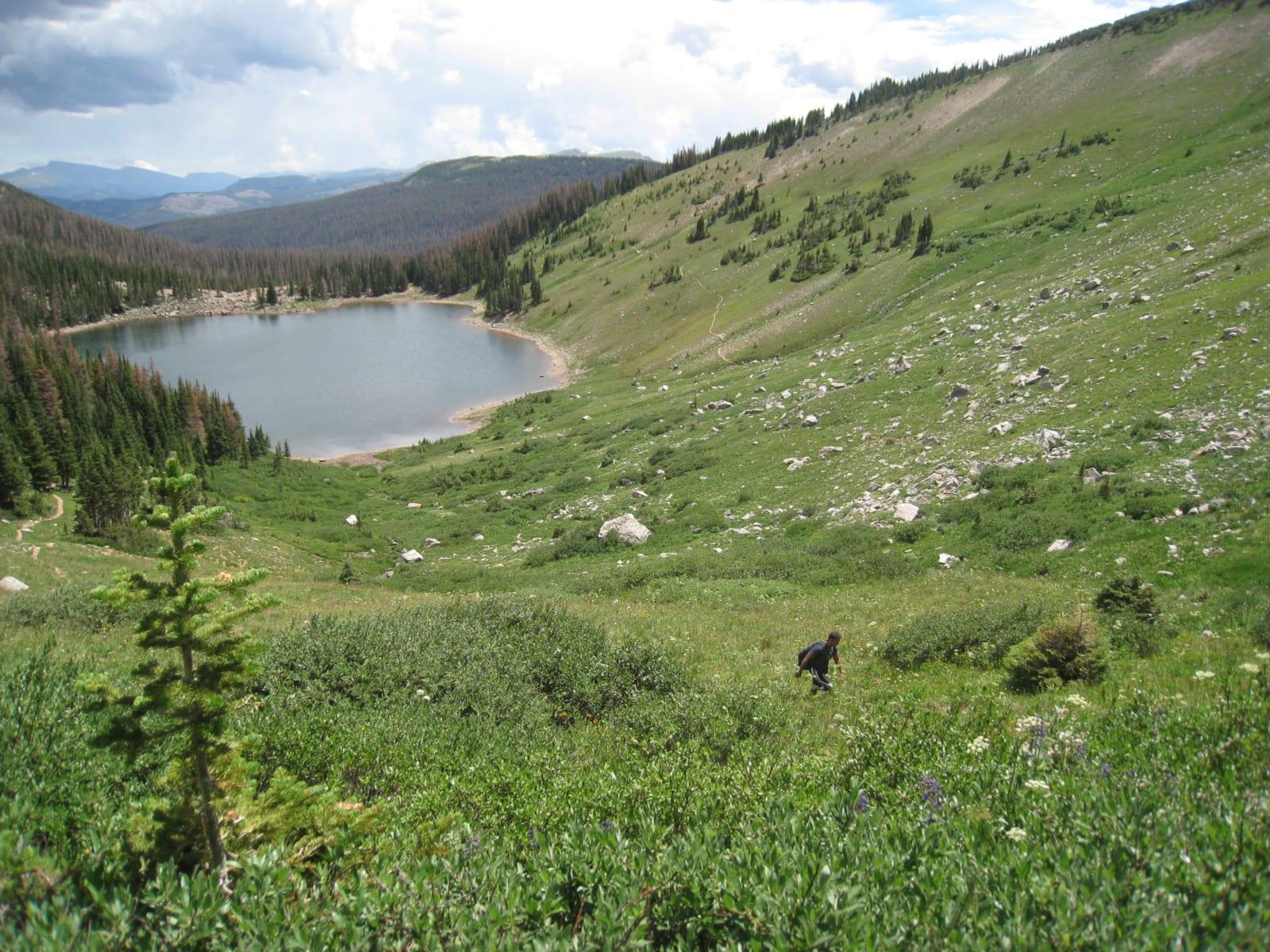 Rawah Wilderness Blue Lake