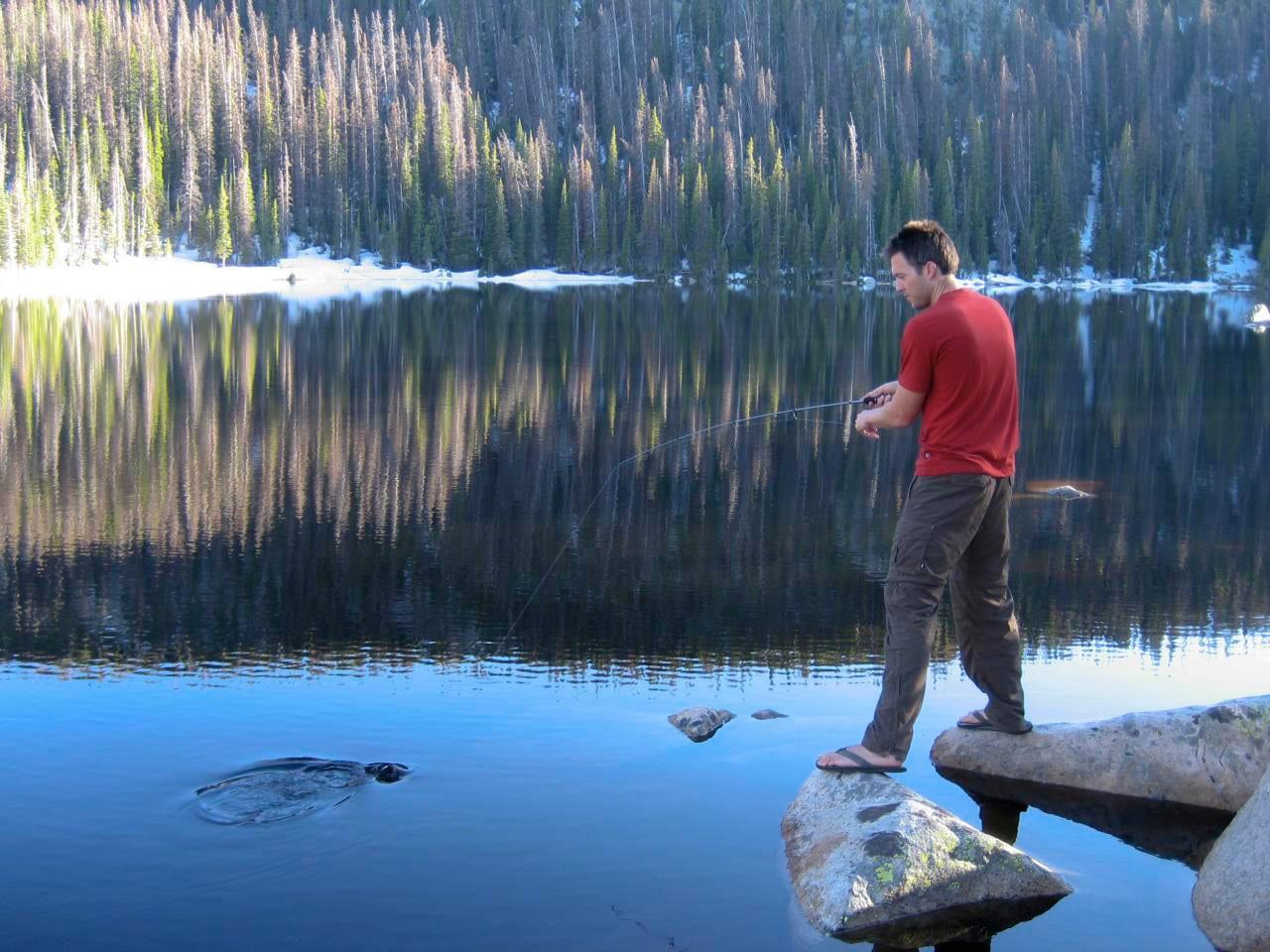 Rawah Wilderness Fishing