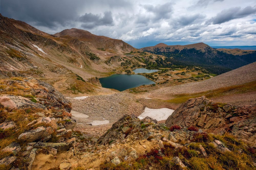 Rawah Wilderness Twin Crater Lakes