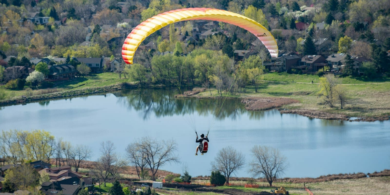 Red Tail Paragliding Boulder Colorado