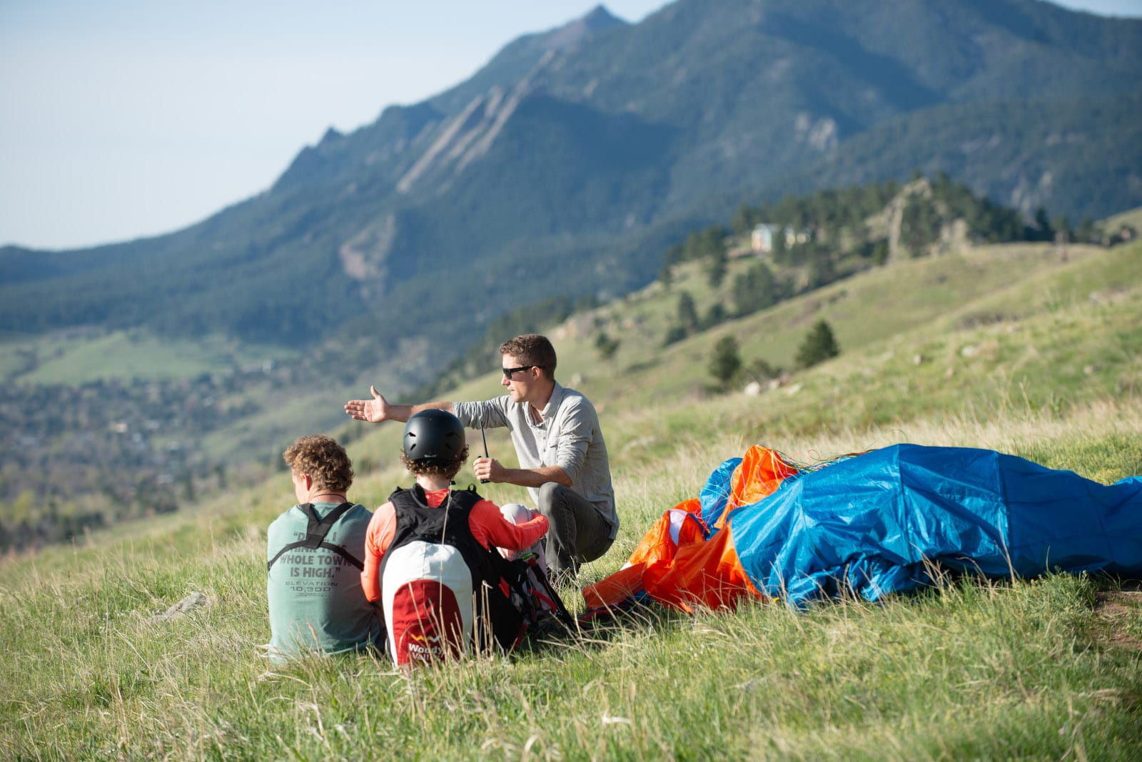 Red Tail Paragliding Lessons Boulder Colorado