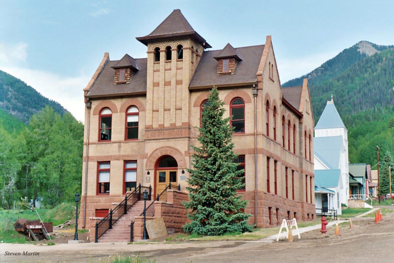 Rico Colorado Former Dolores County Courthouse