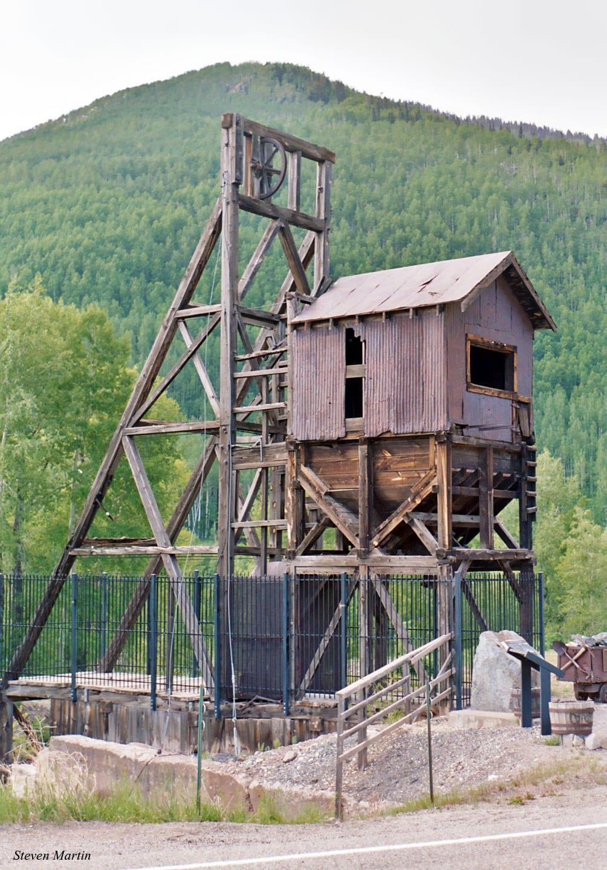 Rico Colorado Mining Structure