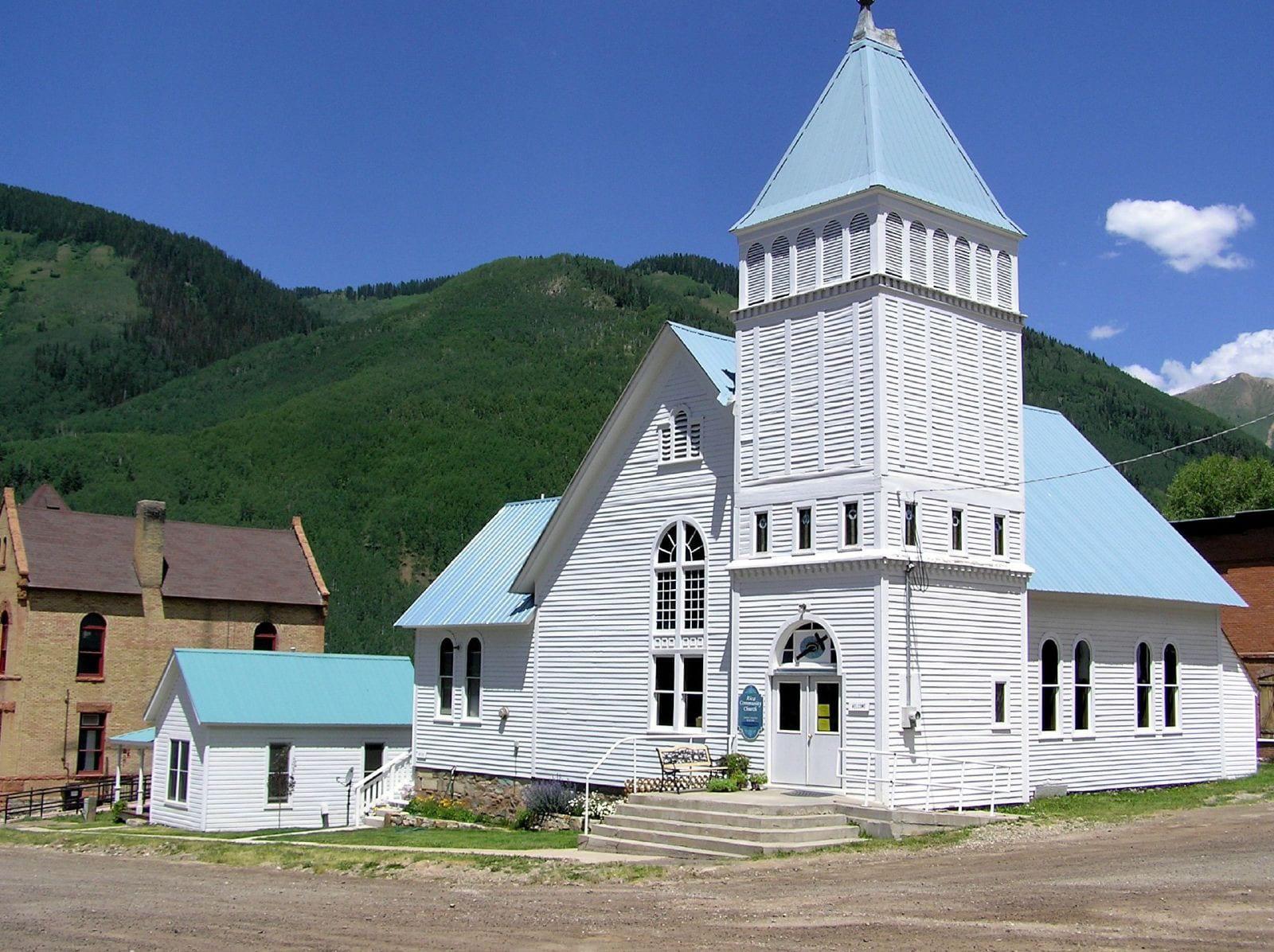Rico Colorado Old Church