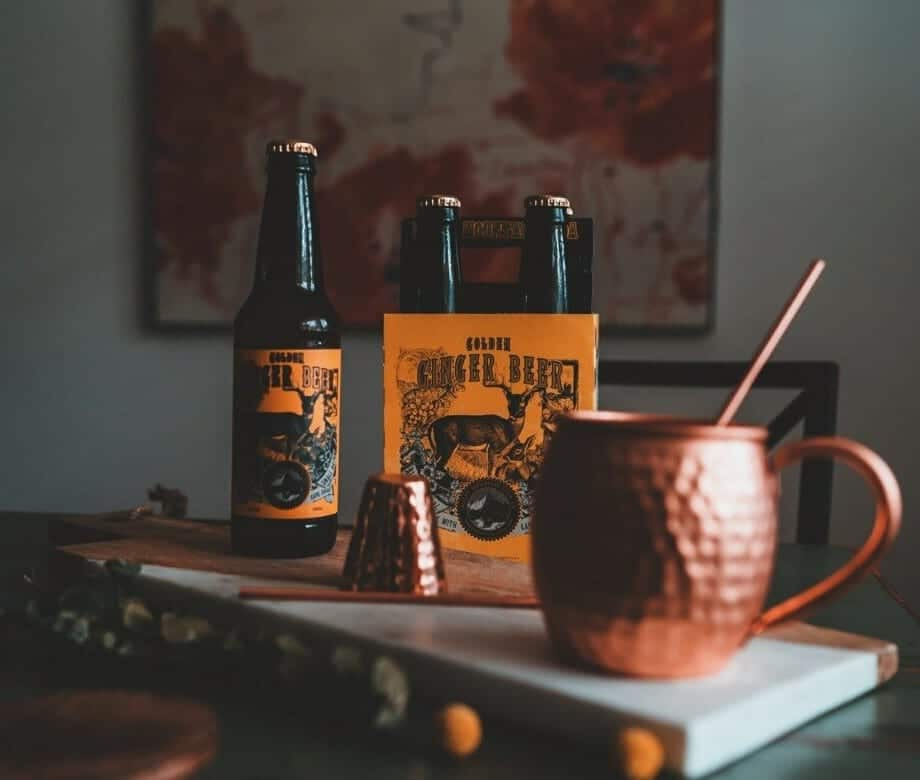 Rocky Mountain Soda Company Ginger Beer Moscow Mule
