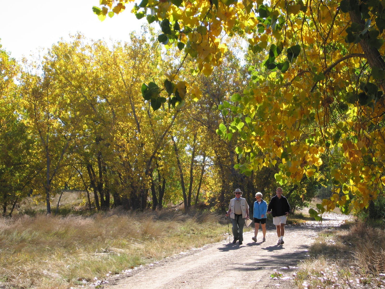 Sand Creek Regional Greenway Trail People Walking