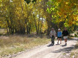 Sand Creek Regional Greenway Trail People Walking