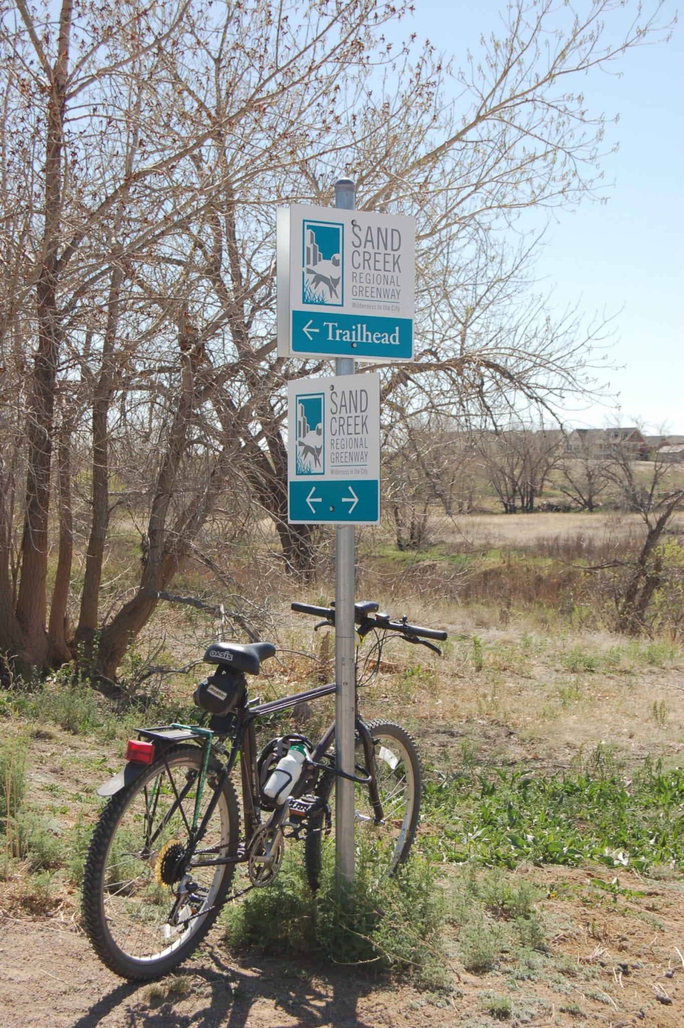 Sand Creek Regional Greenway Trail Map Colorado