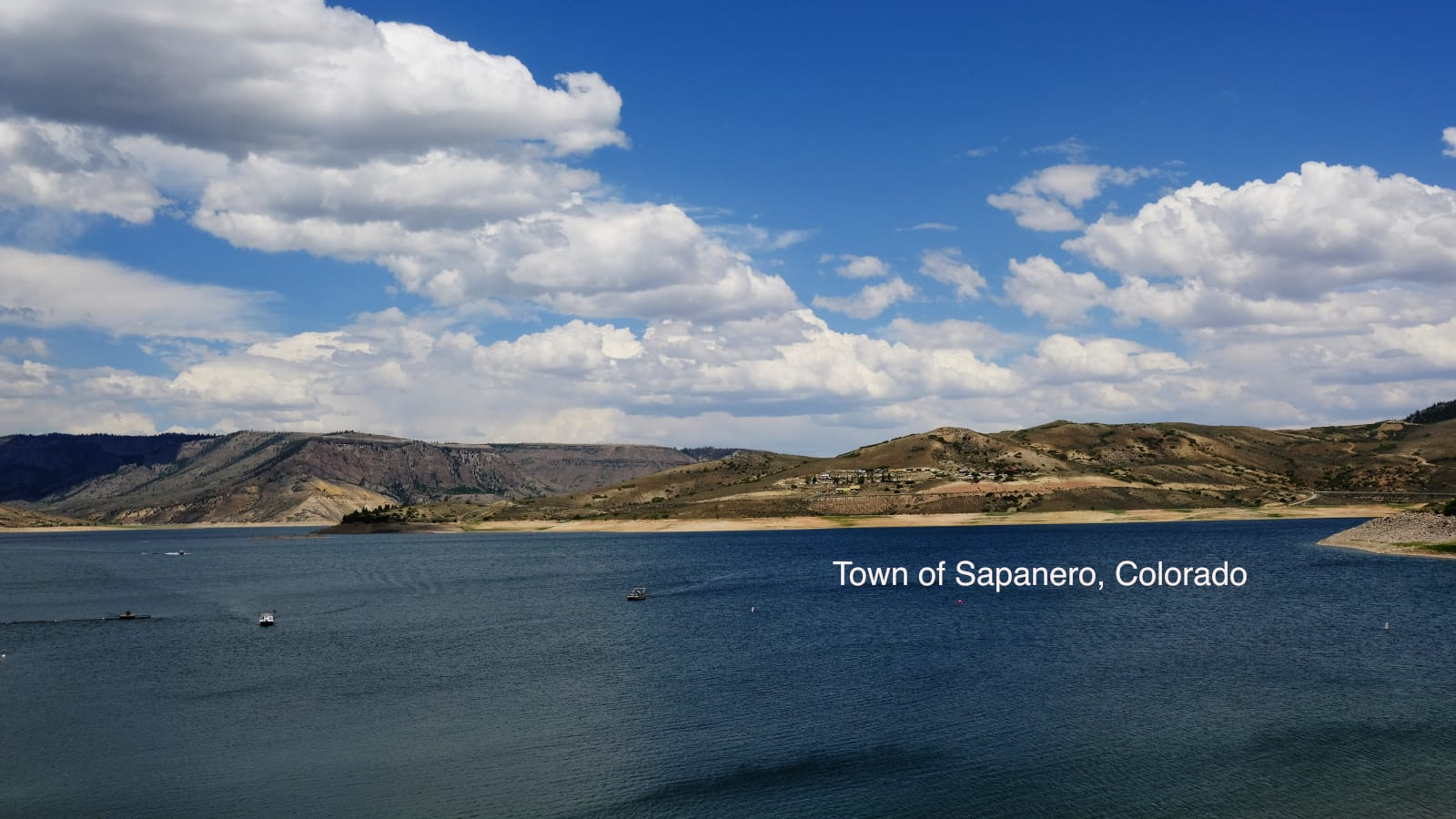 Sapinero Colorado Blue Mesa Reservoir Morrow Point Dam