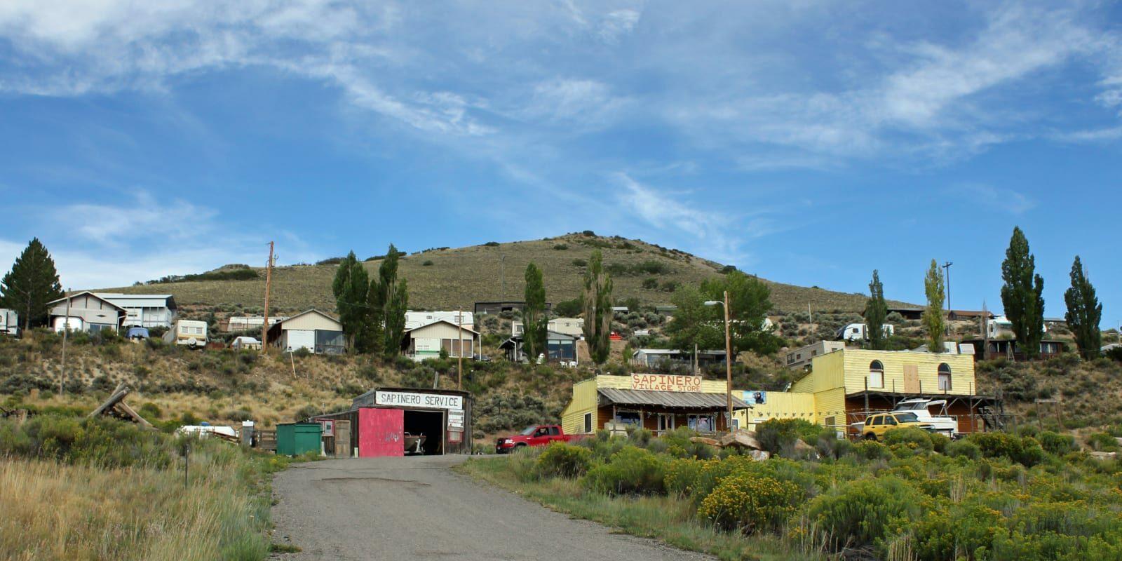 Sapinero Colorado Village Store Houses