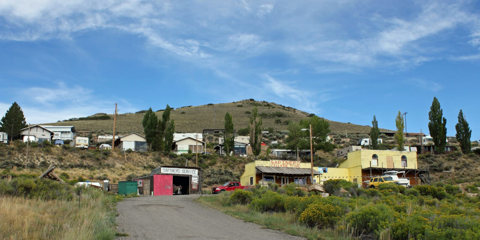 Sapinero Colorado Village Store Houses