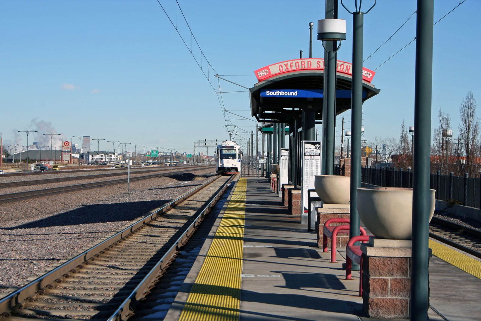 Sheridan Colorado Oxford Light Rail Station