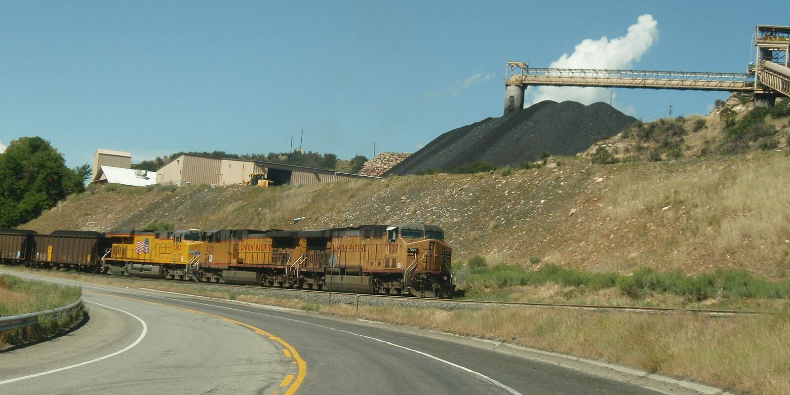 Somerset Colorado Coal Train