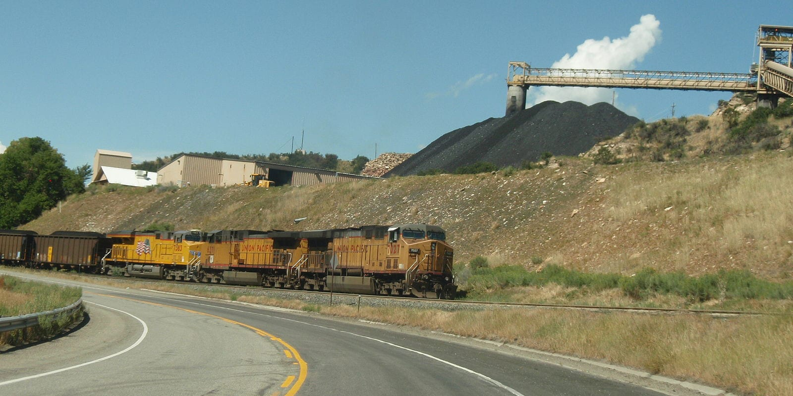 Somerset Colorado Coal Train