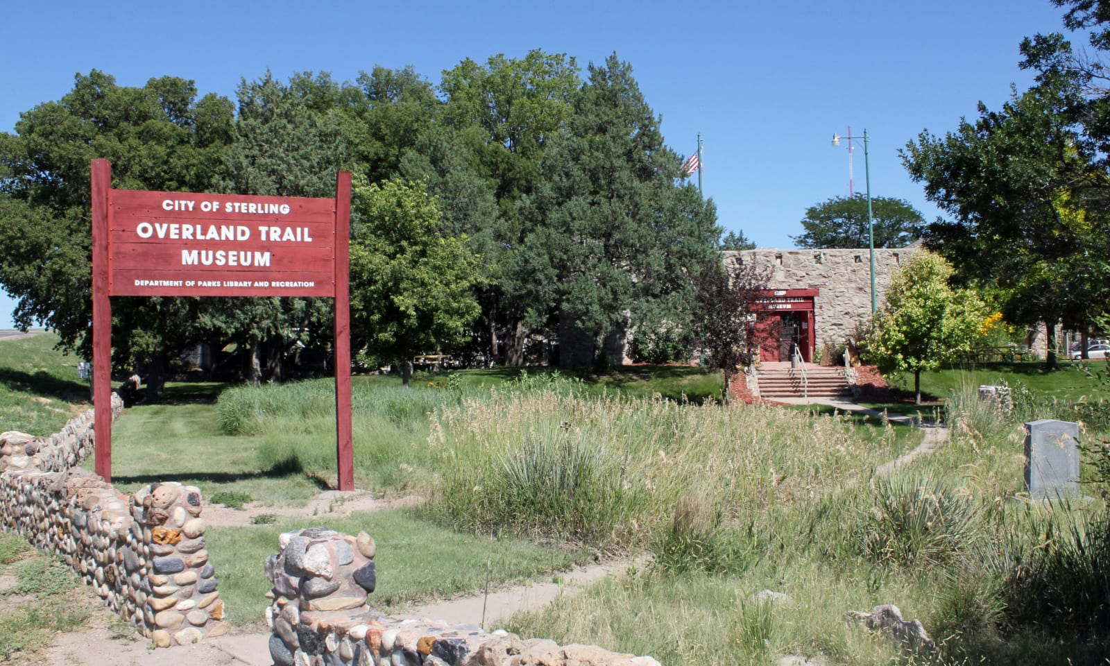 Sterling Colorado Overland Trail Museum Entrance