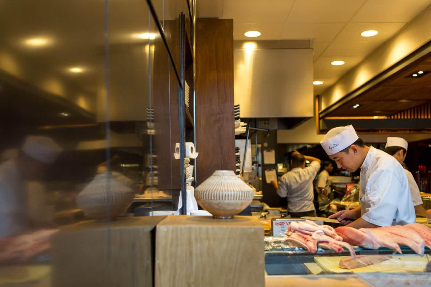 Sushi Den Kitchen Chefs
