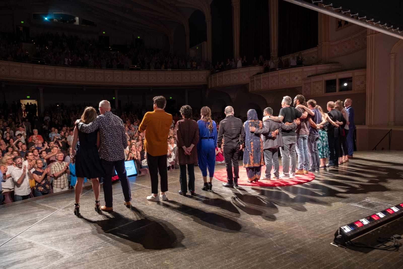 TEDxBoulder Performers Bow