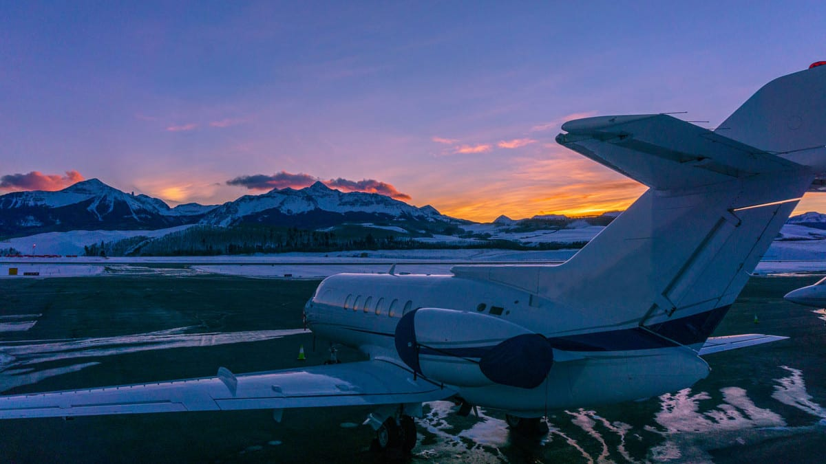Telluride Regional Airport Winter