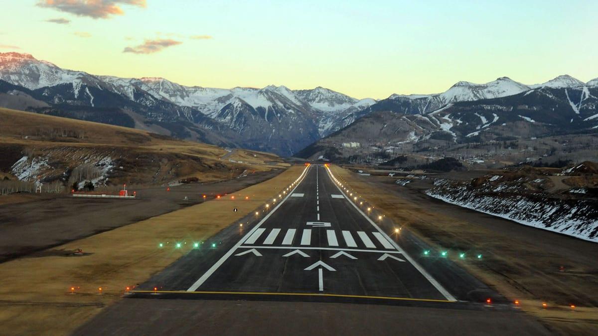 Telluride Regional Airport Runway TEX