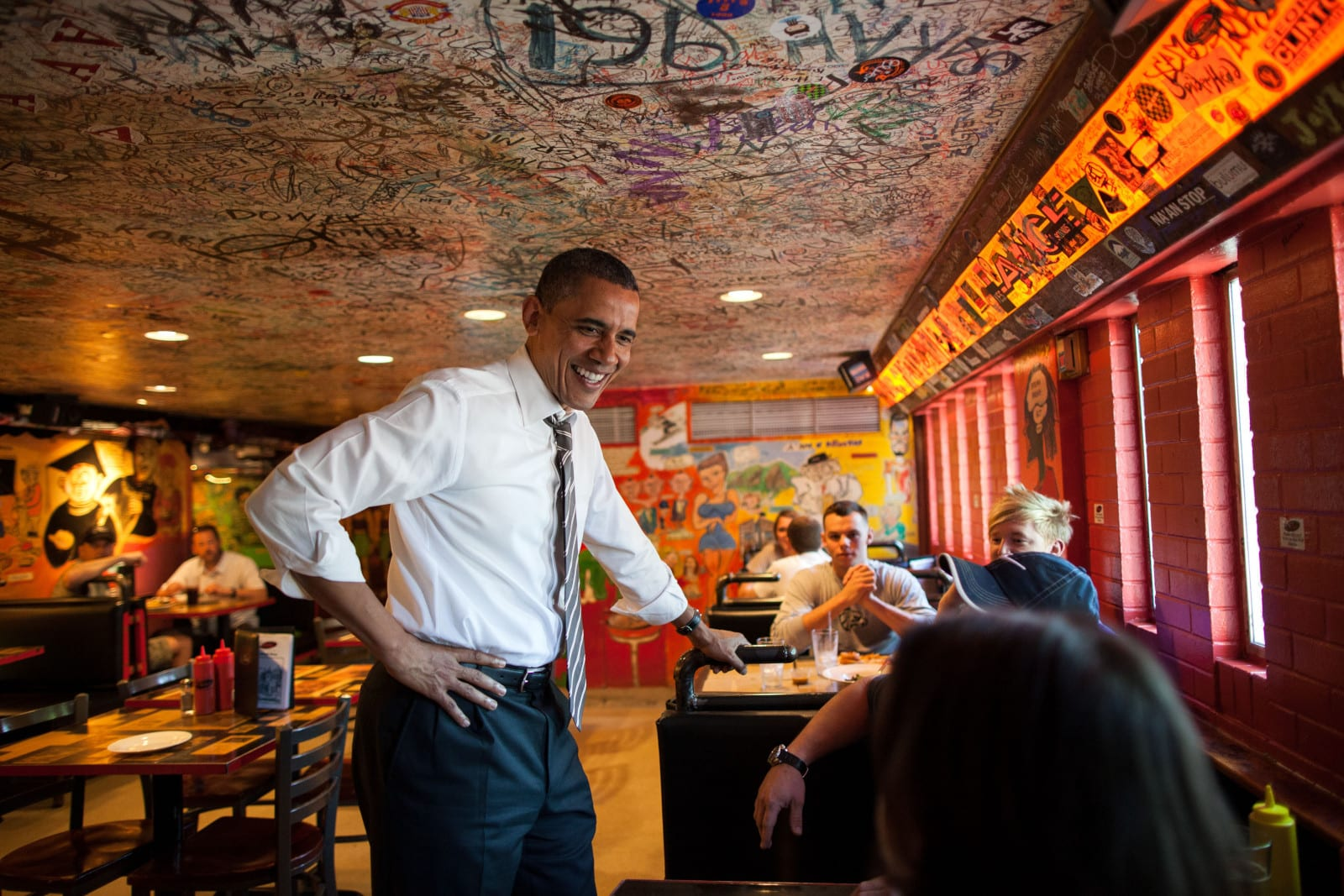 The Sink Restaurant President Obama Visits