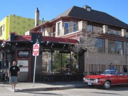 The Sink Restaurant and Bar Boulder Colorado Diners, Drive-ins and Dives Filming