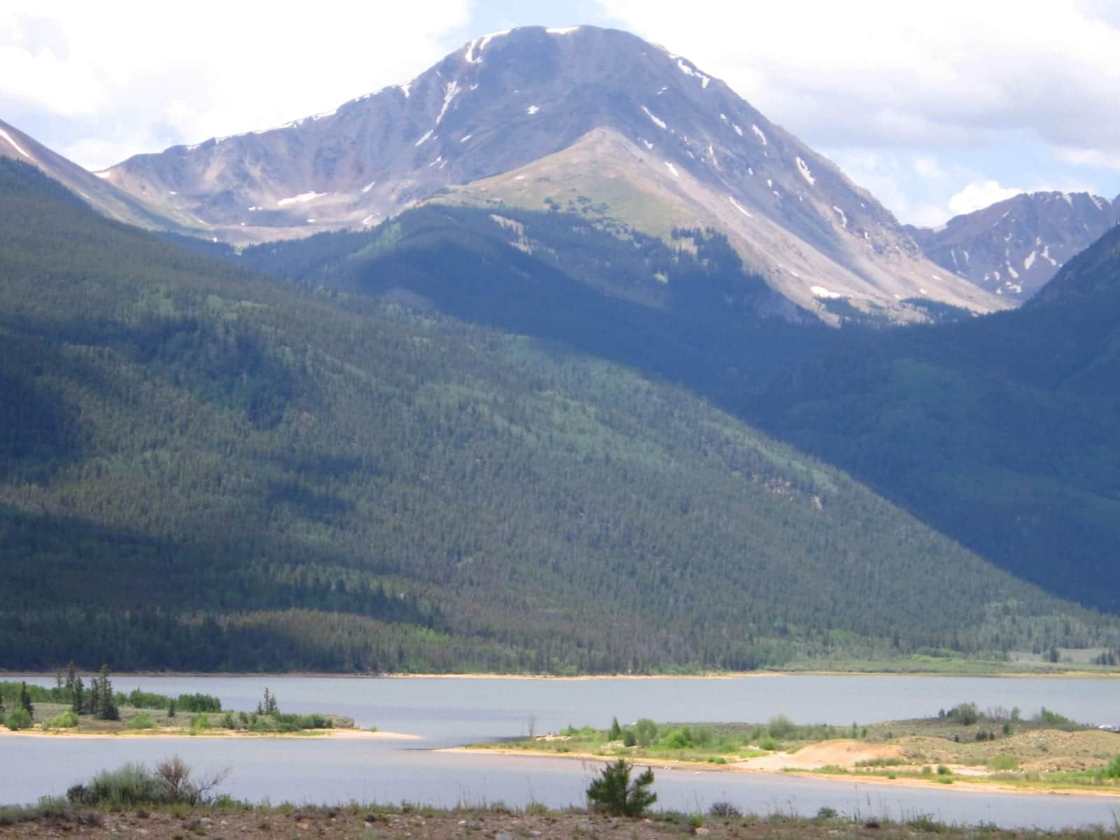 Twin Lakes Colorado Mount Hope