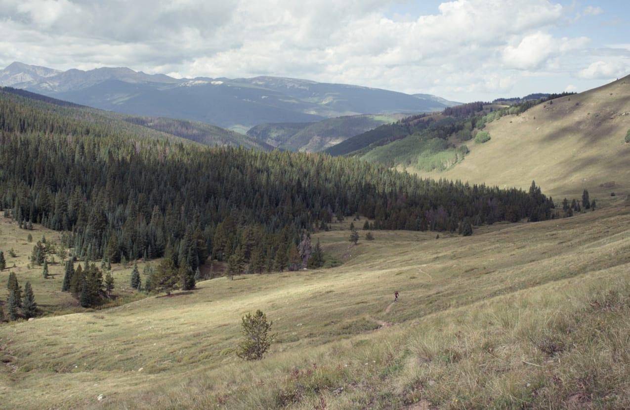 Two Elk Trail Vail Colorado Single Track