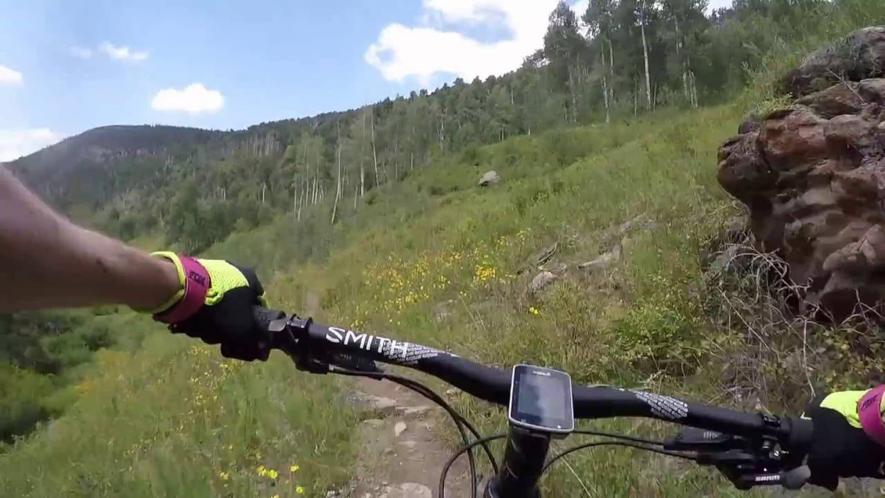 Mountain Biking Two Elk Trail Vail Colorado