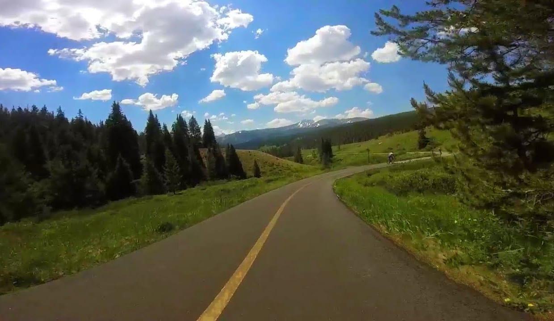 Vail Pass Trail Paved Bike Path Colorado