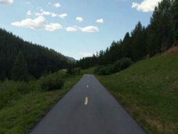 Vail Pass Trail Paved Bike Path