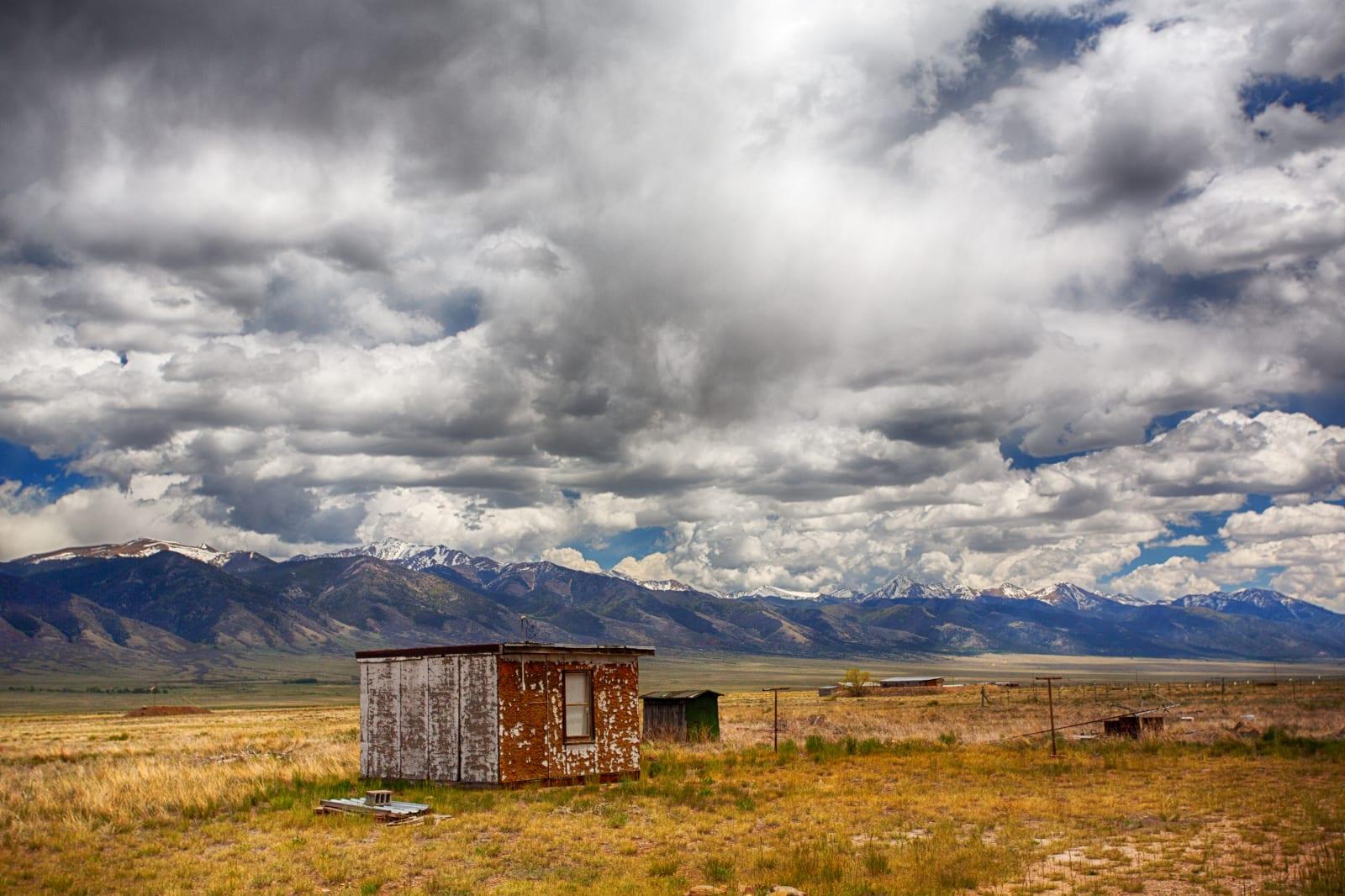 Villa Grove Colorado Shed Sangre De Cristo Mountains