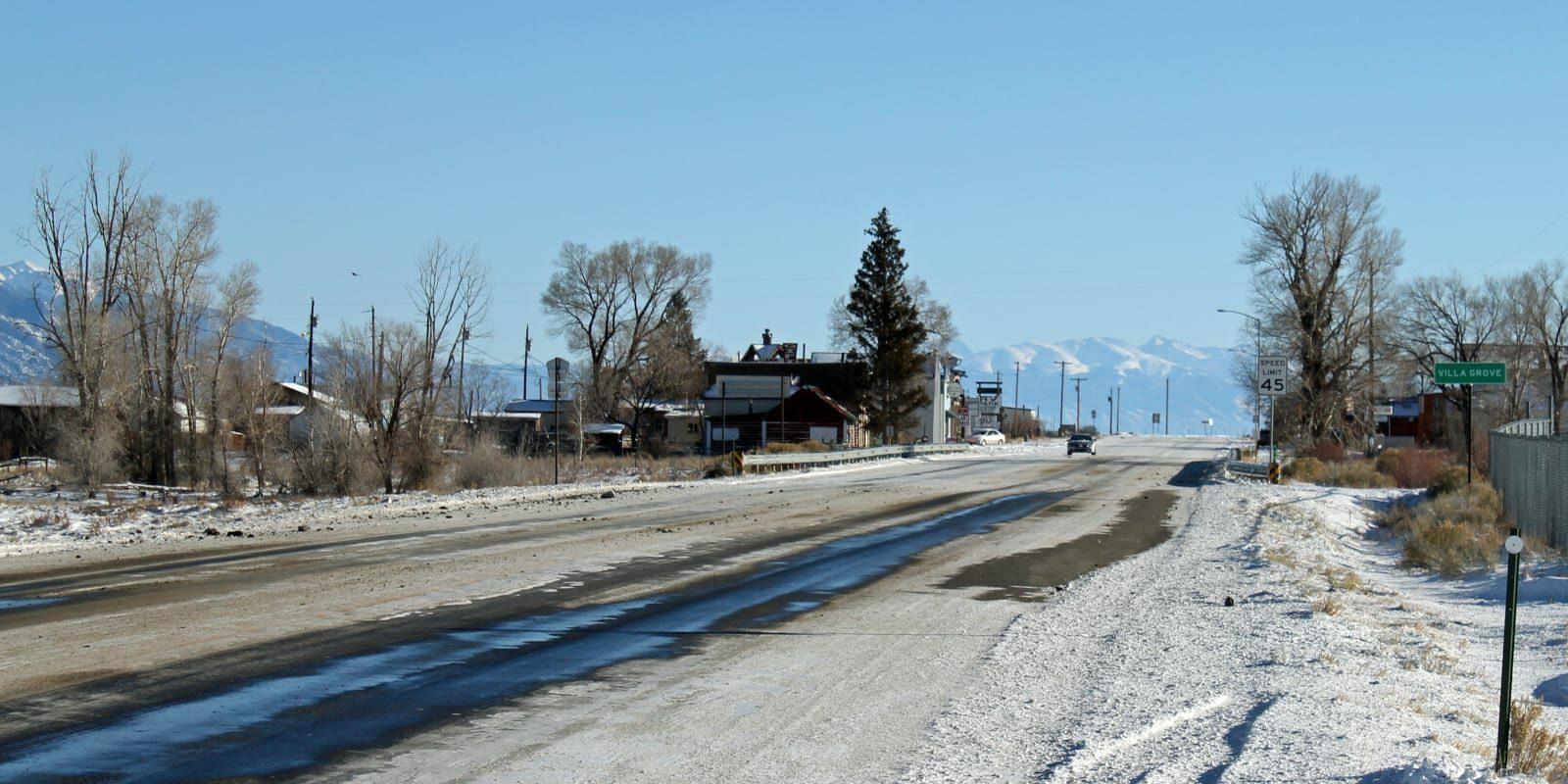 Villa Grove Colorado Highway 285