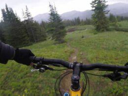 Wheeler Tenmile Trail Mountain Biker Colorado