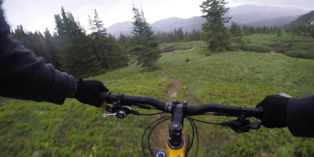 Wheeler Tenmile Trail Mountain Biker Colorado