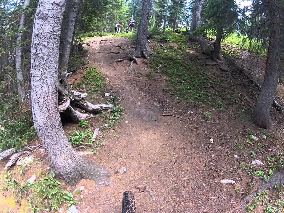 Wheeler Tenmile Trail Mountain Biking Thru Forest