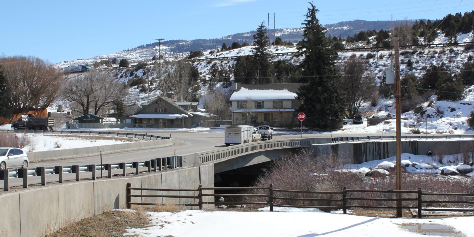 Wolcott Colorado Eagle River Bridge